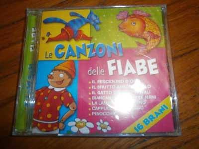 canzoni delle fiabe cd