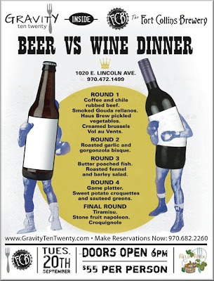 FCB Beer vs Wine Dinner