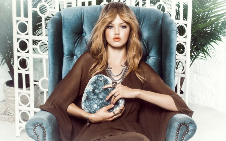 Lindsey Wixson HQ Pictures Maniamania Ad Photoshoot Spring/Summer 2014