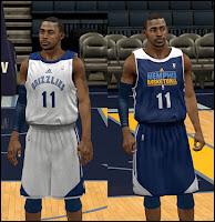NBA 2K13 Memphis Grizzlies Practice Jersey Mod