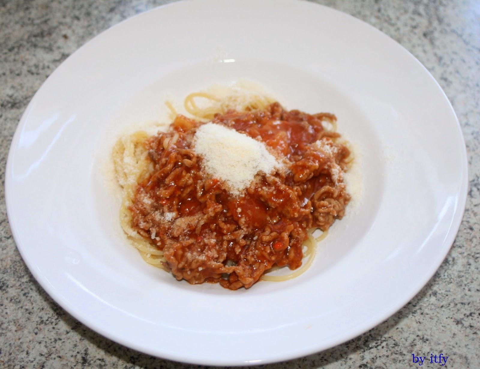 I TEST FOR YOU :-): Essen ist Fertig: Schnelle Spaghetti Bolognese ...