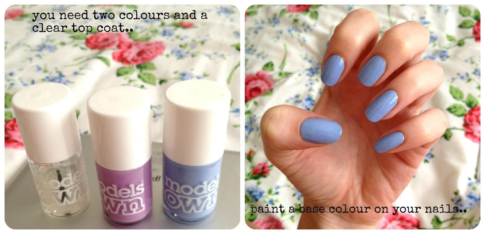 DIY dip dye nail art tutorial! | BURKATRON
