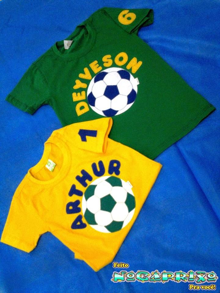 Blusas Personalizadas para Copa 2014