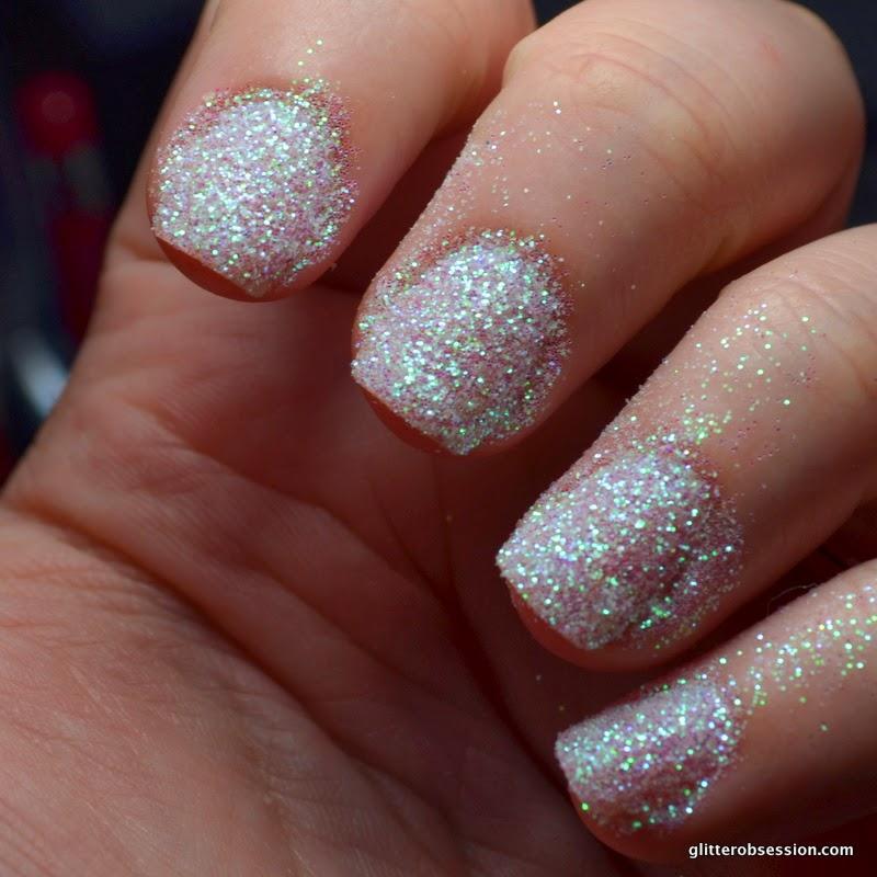 Opal Glitter Nail Polish: Glitter Obsession: Opal Glitter Gone Wrong