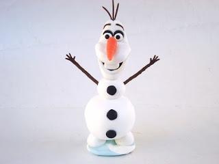Olaf topo de bolo