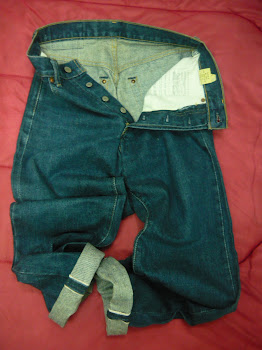 LEVIS 503B big E  selvedge  kod 03