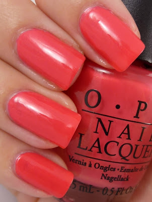 I Eat Mainely Lobster, OPI, Touring America collection - swatch