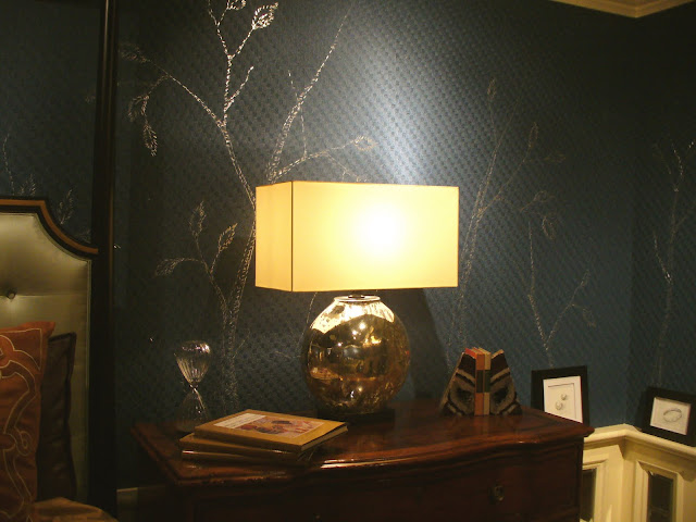 Forget Drawing On Walls DC Designer Chad Alan Added An Interesting Twist To The Wallpaper In Bedroom He Designed For Design Center Dream Home