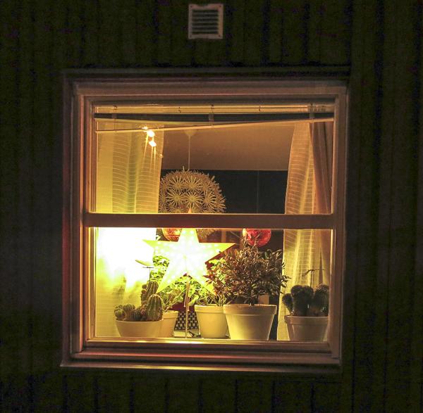 fönsterbelysning