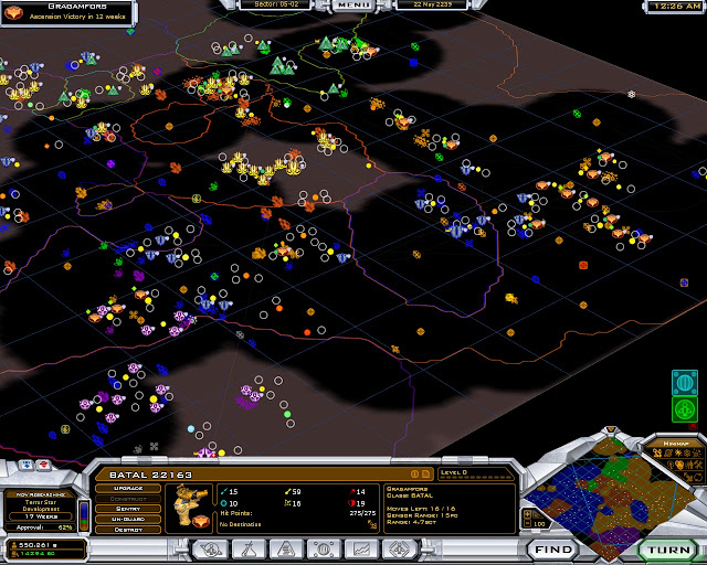 Galactic Civilizations 2 - Zoom Out Map Screenshot