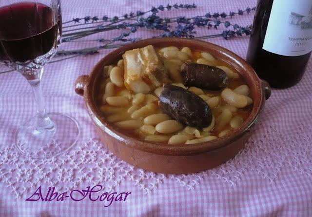 Fabada asturiana alba hogar