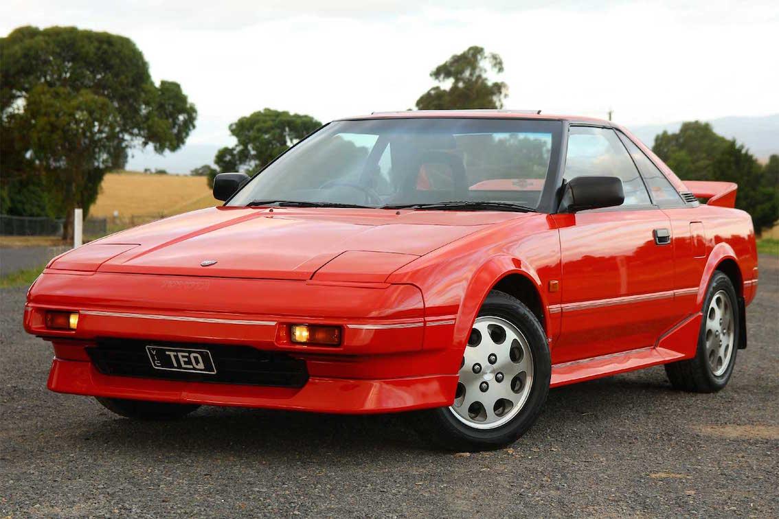 FAB WHEELS DIGEST (F.W.D.): Toyota MR2 - Generation 1 (1984-89)