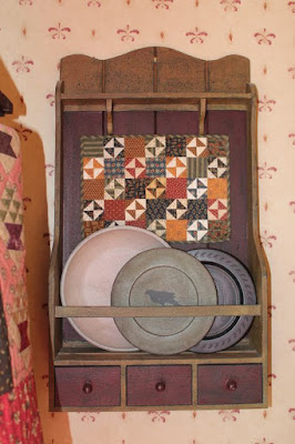 Little Quilt in a Wall Rack