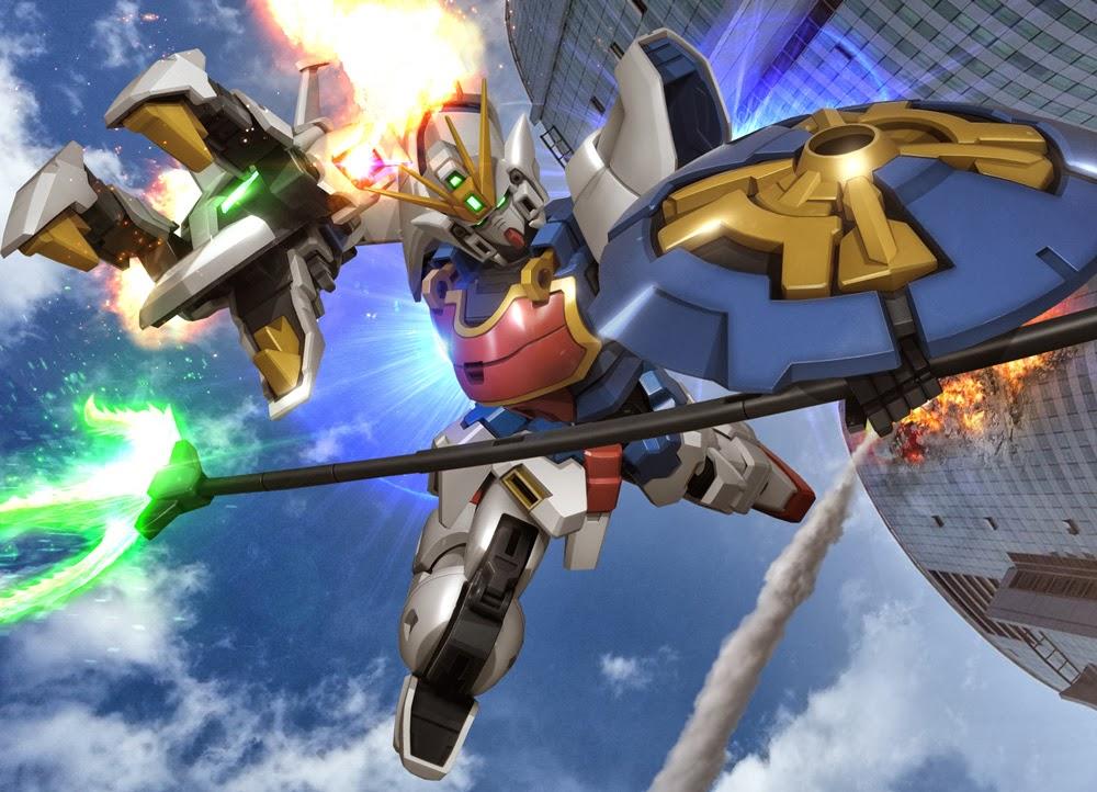 The Best Cartoon Wallpapers: Gundam Wing Wallpaper Gallery