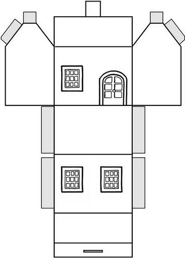 Recortar e colar casa para montar recortar e colar - Montar un cine en casa ...