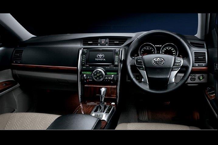 Toyota Crown 2018 Interior >> Cars World: Toyota Mark X Interior