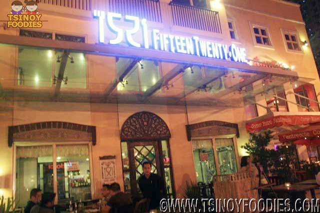 1521 fifteen twenty one restaurant
