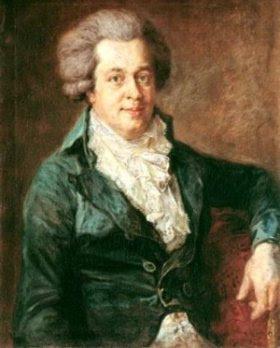 Pintura de Mozart