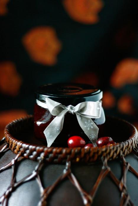 Cranberry-Apfel-Marmelade