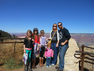 Our family at the Grand Canyon