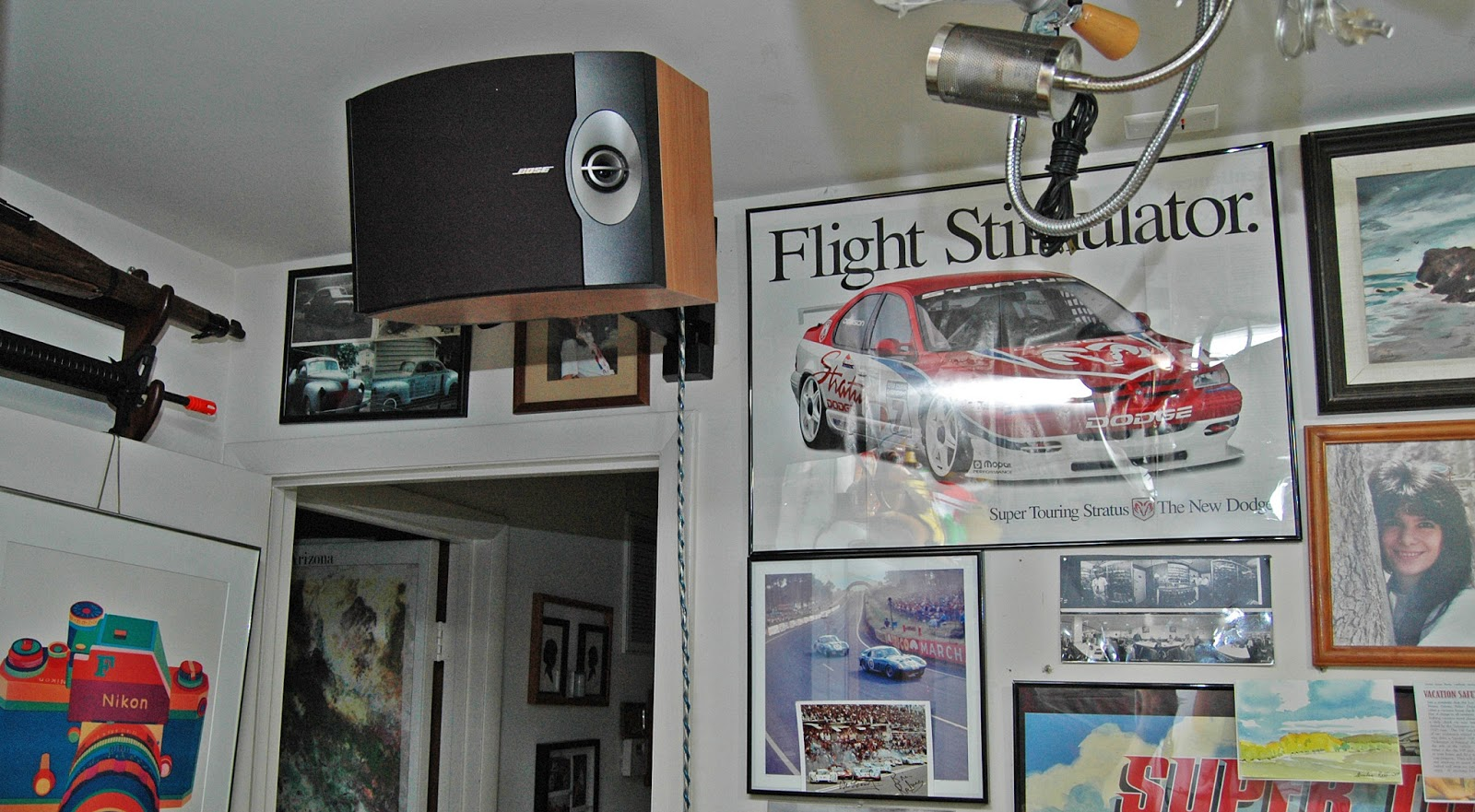 A Great Way To Mount Your Bose 301 Speakers For Excellent