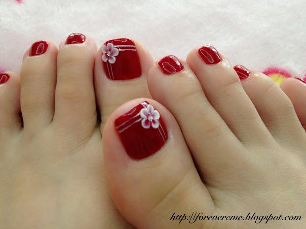 daily life 3d pedicure nail