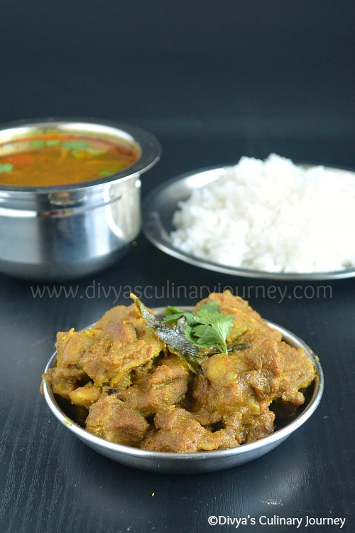 South Indian style Lamb Fry