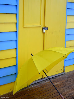 beach hut twenty umbrella