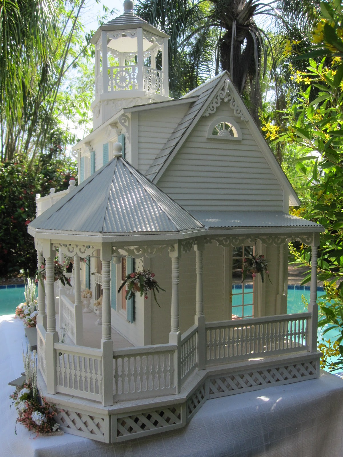 Dollhouses By Robin Carey The Sea Glass Victorian Cottage