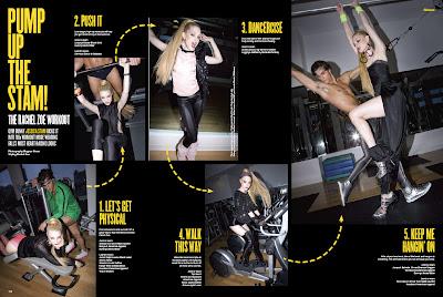 Jessica Stam in V Magazine