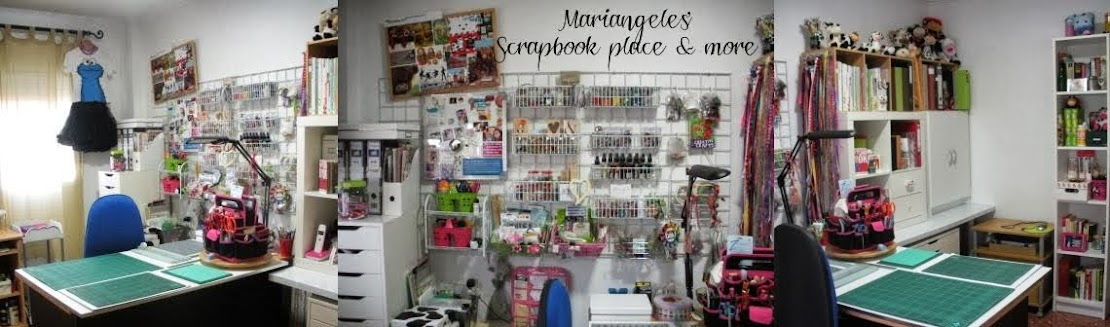 Mariangeles' Scrapbook place & more