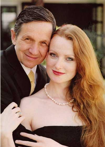 Denis Kucinich and his hot wife