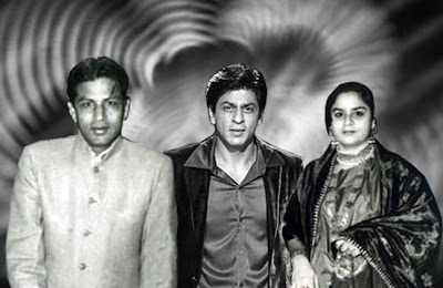 Shahrukh Khan's father and mother