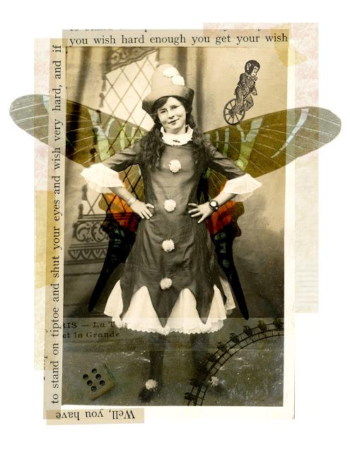 Wishpom vintage inspired treasures collage