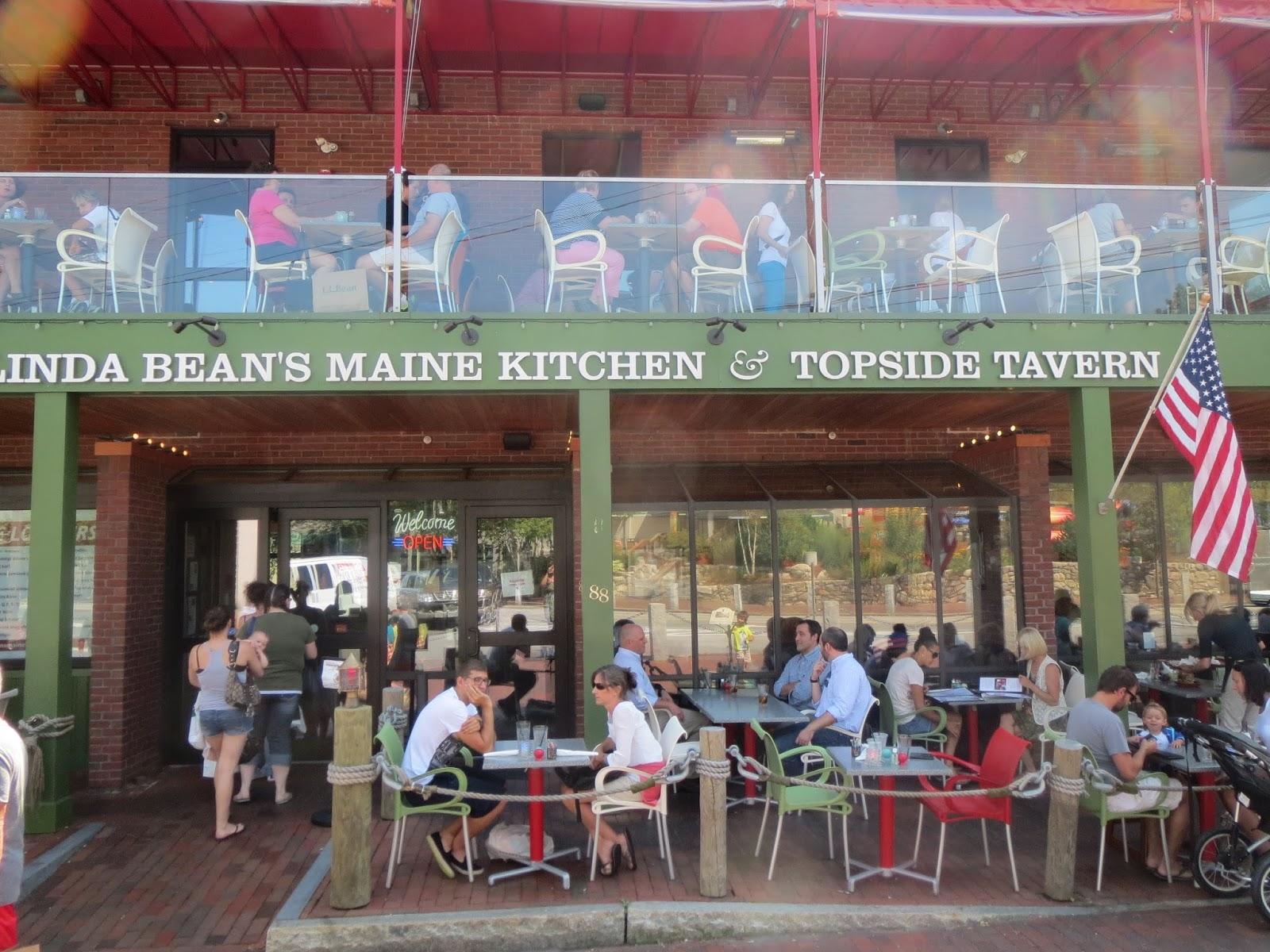Have Budget Will Travel Linda Bean S Maine Kitchen Topside Tavern