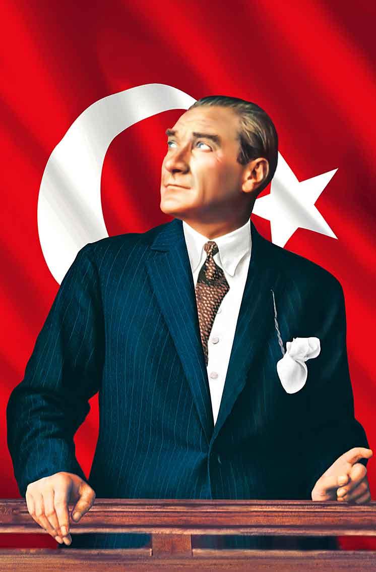 İZİNDEYİZ ATAM..
