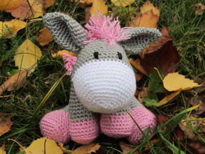 Crochet & Knitting Stitch: Eselmädchen Pauline
