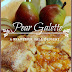 Giveaway and Pear Galette