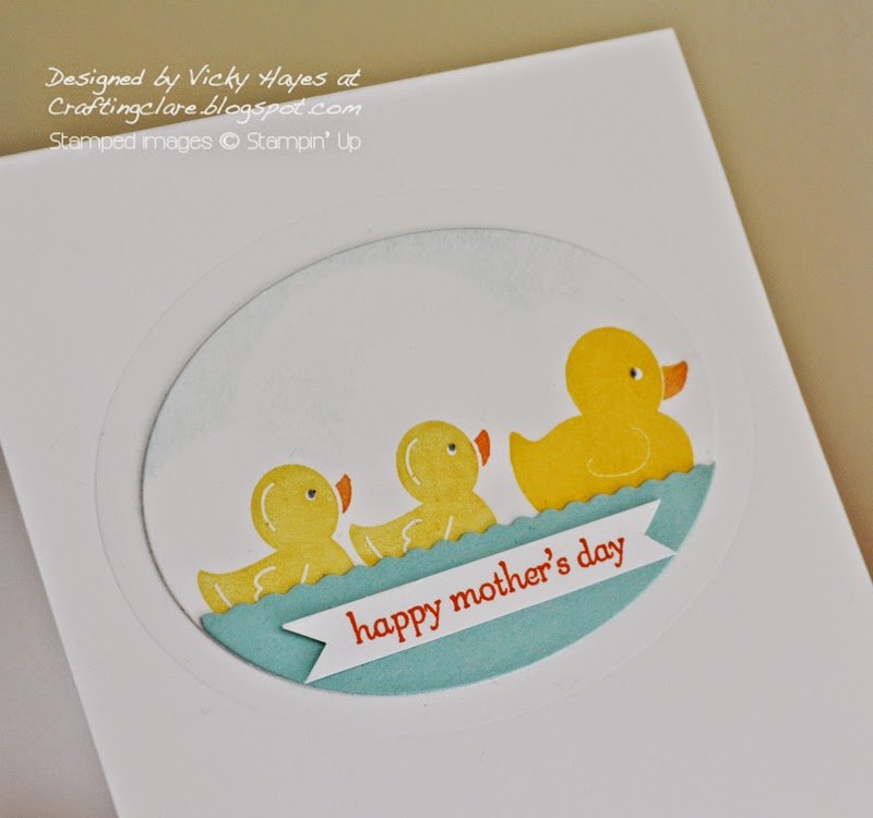 How to emboss using Stampin' Up framelits with UK independent Stampin' Up demonstrator Vicky Hayes