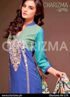 Elegant Contrast of Blue Winter Dresses