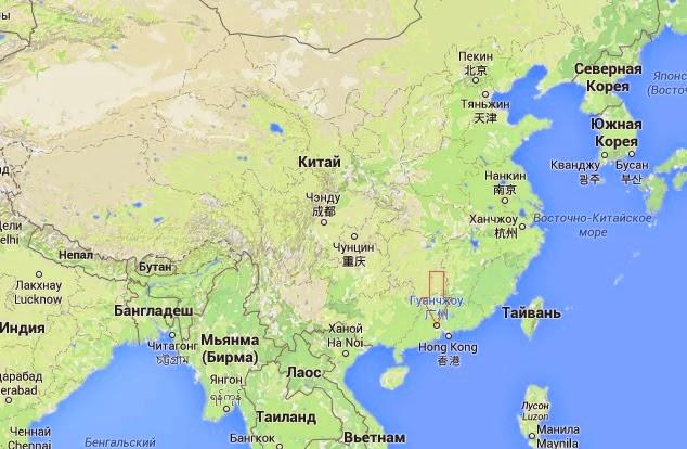 Где находится пекин карта