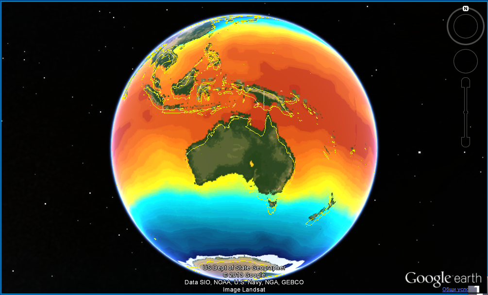 Australia Temperatures Jan 2014
