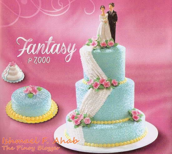 Goldilocks wedding cake: Fantasy