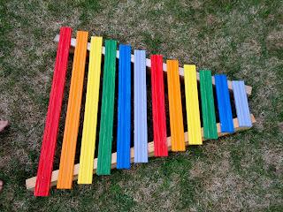 activities for kid, outdoor xylophone
