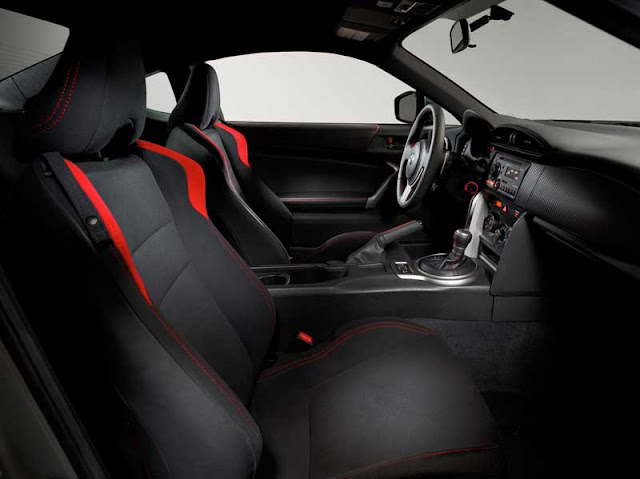 2013 Scion FR-S interior - Subcompact Culture