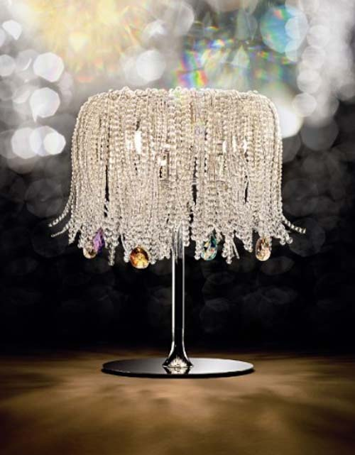 Swarovski Crystal Lamp by Opulent Items