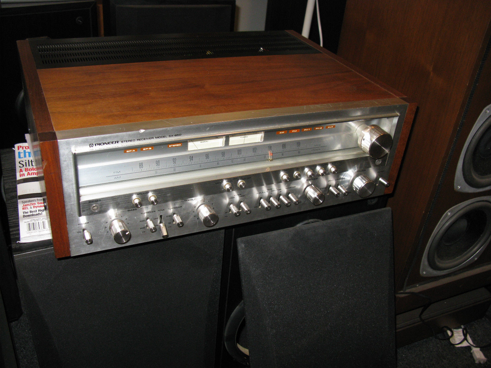 Pioneer Stereo Receiver Model SX-850