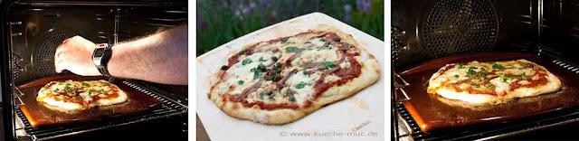 Miele Backofen mit Klimagaren für eine perfekte Pizza