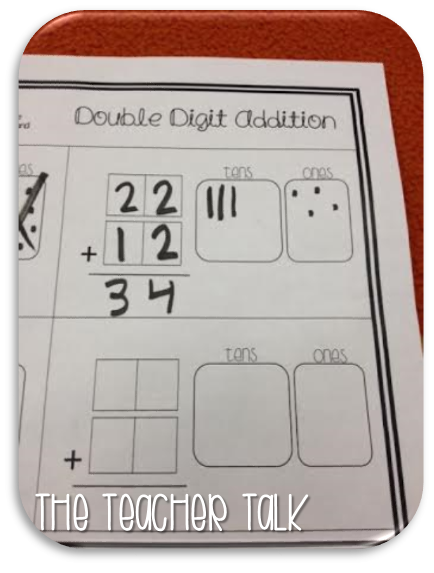 math worksheet : the teacher talk let s talk about my week not ! : Base Ten Blocks Addition Worksheets