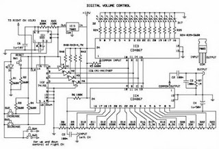 Create Digital Volume Control Circuit also 1000 Watt Audio  lifier additionally 18w Audio  lifier Circuit Using Tda1521 together with  on 500 watts car audio amplifier circuit diagram